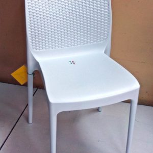 silla bora blanca