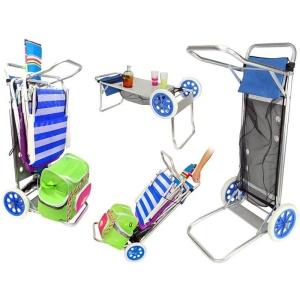 Carro playa porta sillas